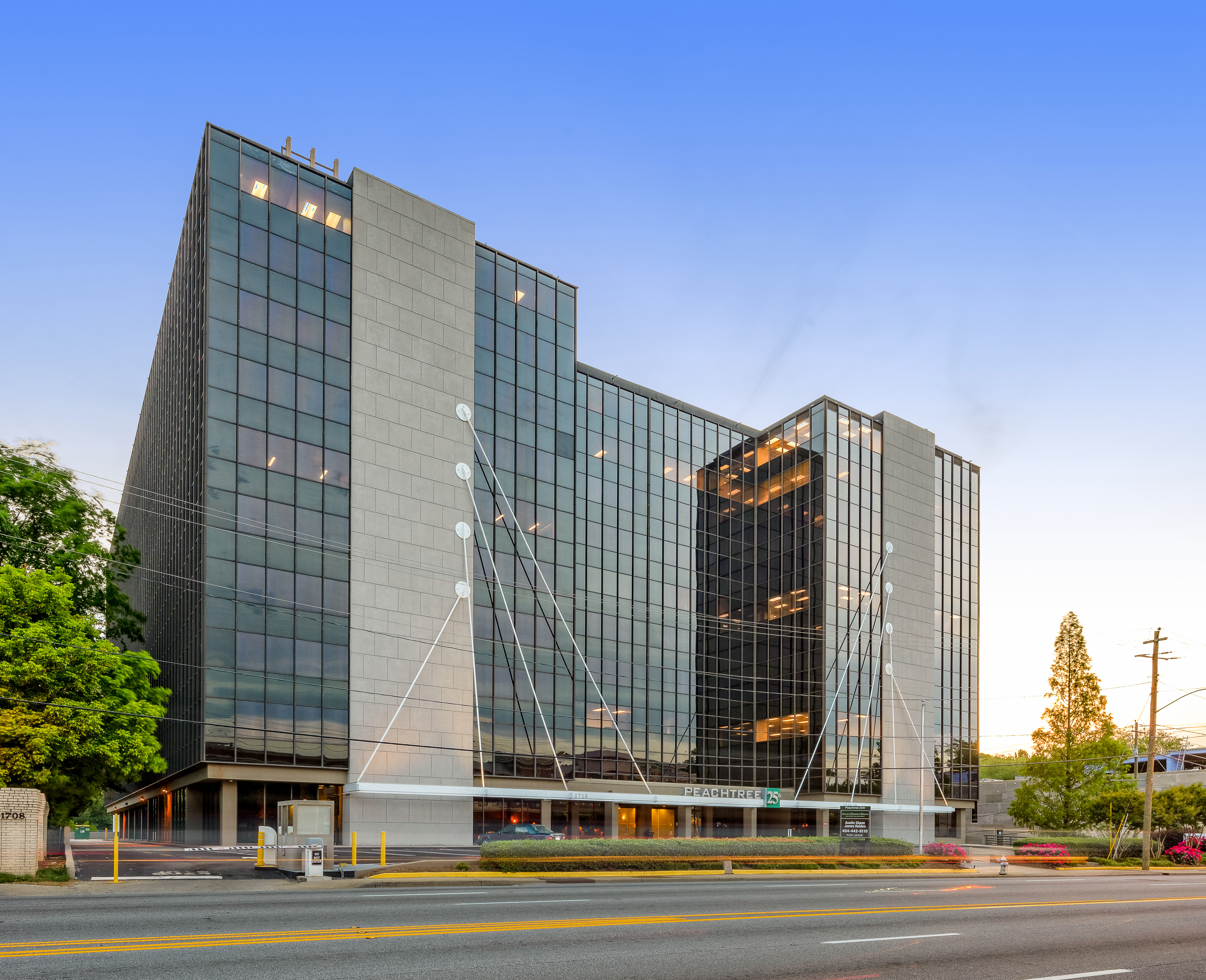 Our atlanta office has moved ken weeden associates inc for The peachtree